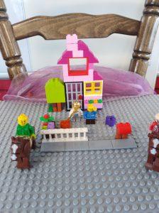 Busy Lego Scene