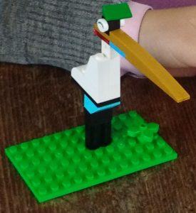 Clever Lego Bird